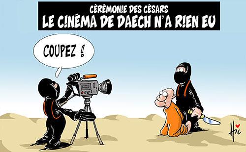 Cérémonie des césars: Le cinéma de daech n'a rien eu - Le Hic - El Watan - Gagdz.com
