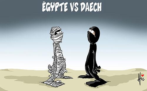 Egypte vs daech - Le Hic - El Watan - Gagdz.com