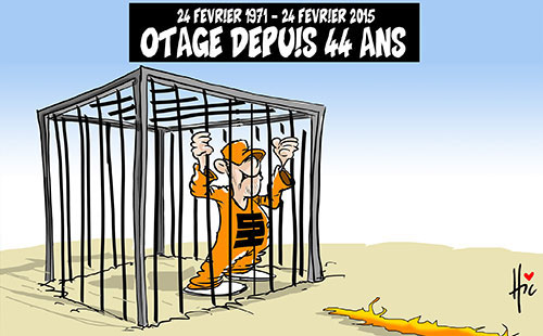 24 février 1971 - 24 février 2015: Otage depuis 44 ans - Le Hic - El Watan - Gagdz.com