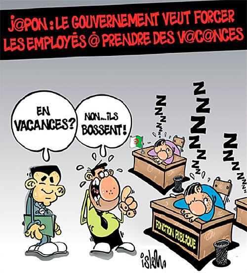 Japon: Le gouvernement veut forcer les employés à prendre des vacances