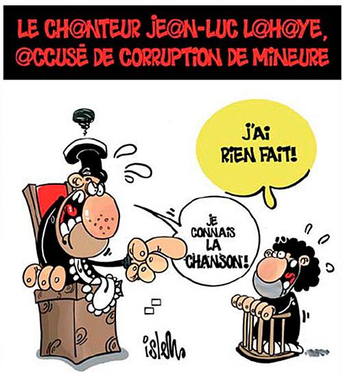 Le chanteur Jean-Luc Lahaye accusé de corruption de mineure
