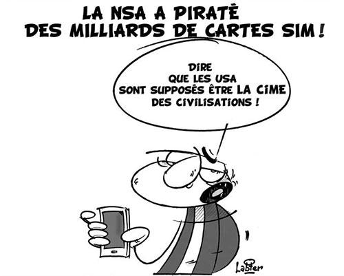La NSA a piraté des milliards de cartes sim - Vitamine - Le Soir d'Algérie - Gagdz.com