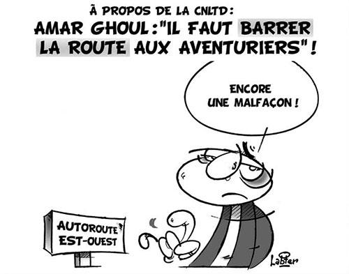 A propos de la CNLTD: Amar Ghoul: Il faut barrer la route aux aventuriers - Vitamine - Le Soir d'Algérie - Gagdz.com