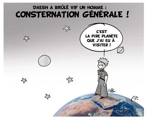 Daesh a brûlé vif un homme: Conternation générale - Vitamine - Le Soir d'Algérie - Gagdz.com