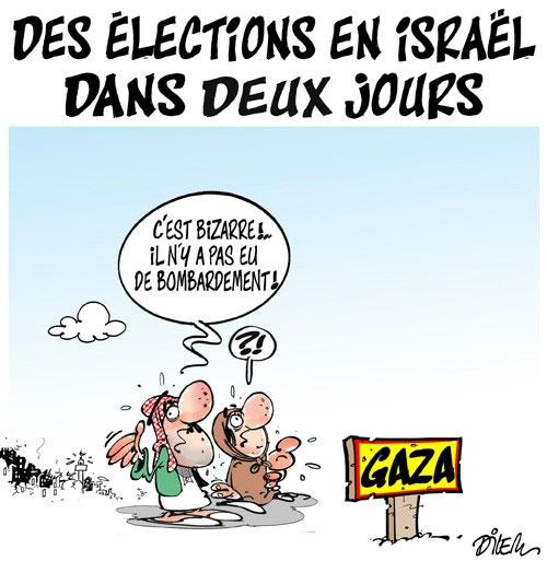 Des élections en Israël dans deux jours