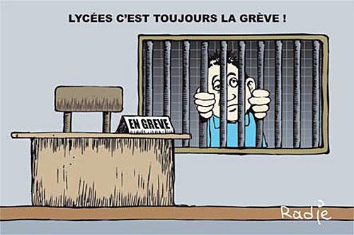 Lycées: c'est toujours la grève - Ghir Hak - Les Débats - Gagdz.com