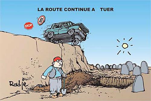La route continue à tuer - Ghir Hak - Les Débats - Gagdz.com