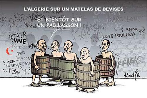 L'Algérie sur un matelas de devises