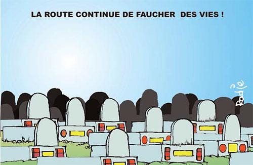 La route continue de faucher des vies - Ghir Hak - Les Débats - Gagdz.com