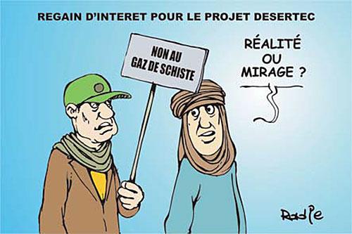 Regain d'interet pour le projet desertec - Ghir Hak - Les Débats - Gagdz.com