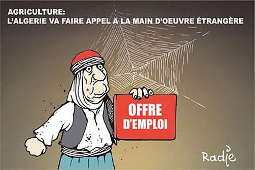 Agriculture: L'Algérie va faire appel à la main d'ouvre étrangère - Ghir Hak - Les Débats - Gagdz.com