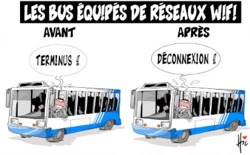 Les bus équipés de réseaux WiFi - Le Hic - El Watan - Gagdz.com