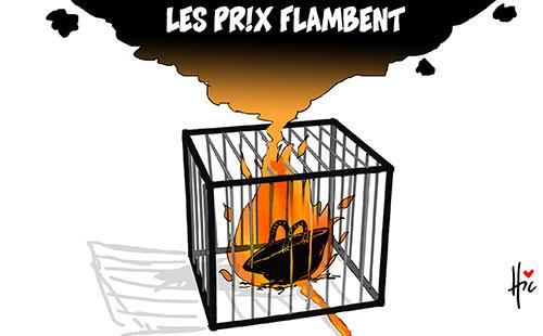 Les prix flambent - Le Hic - El Watan - Gagdz.com
