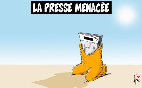 La presse menacée - Le Hic - El Watan - Gagdz.com
