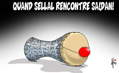 Quand Sellal rencontre Saidani - Le Hic - El Watan - Gagdz.com