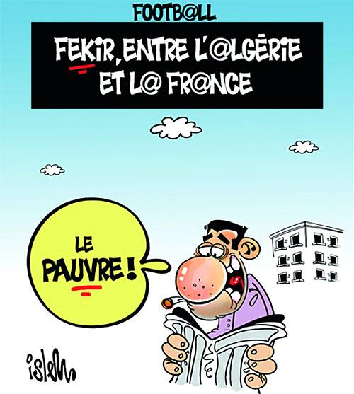 Football: Fekir entre l'Algérie et la France