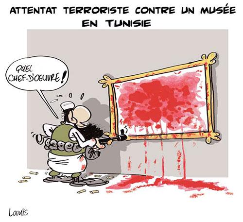 Attentat terroriste contre un musée en Tunisie