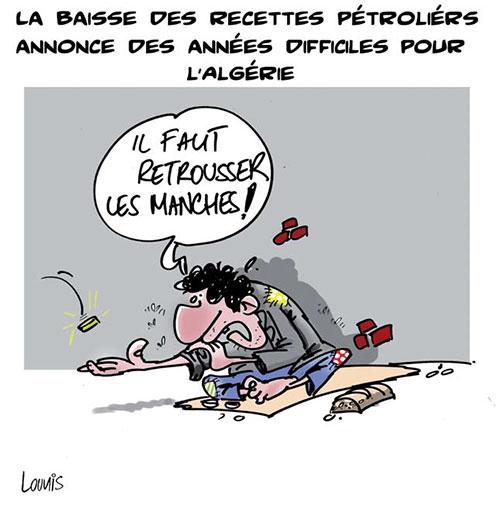 Baisse des recettes pétrolières: années difficiles pour l'Algérie