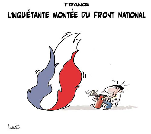 France: L'inquiétante montée du frnt national
