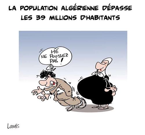 La population algérienne dépasse les 39 millions d'habitants - Lounis Le jour d'Algérie - Gagdz.com