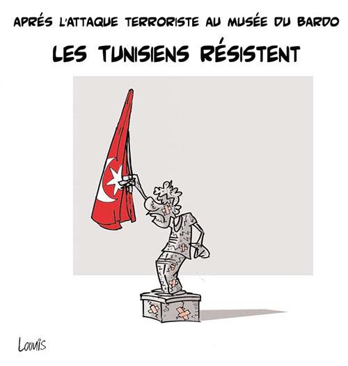 Après l'attaque terroriste au musée du Bardo: Les Tunisiens résistent