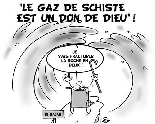 Le gaz de schiste est un don de dieu - Vitamine - Le Soir d'Algérie - Gagdz.com
