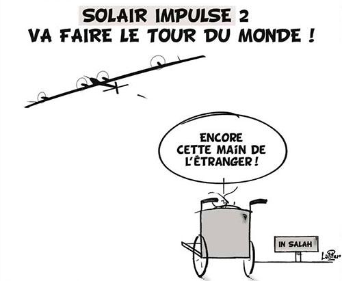 Solar impulse 2 va faire le tour du monde - Vitamine - Le Soir d'Algérie - Gagdz.com