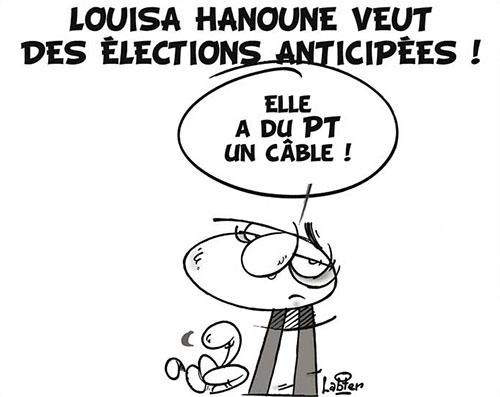 Louisa Hanoune veut des élections anticipées - Vitamine - Le Soir d'Algérie - Gagdz.com