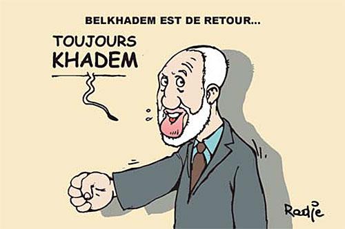 Belkhadem est de retour - Ghir Hak - Les Débats - Gagdz.com