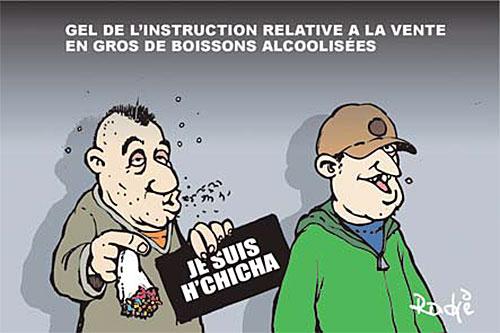 Gel de l'instruction relative à la vente en gros de boissons alcoolisées - Ghir Hak - Les Débats - Gagdz.com