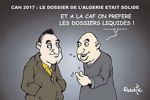 Can 2017: Le dossier de l'Algérie était solide - Ghir Hak - Les Débats - Gagdz.com