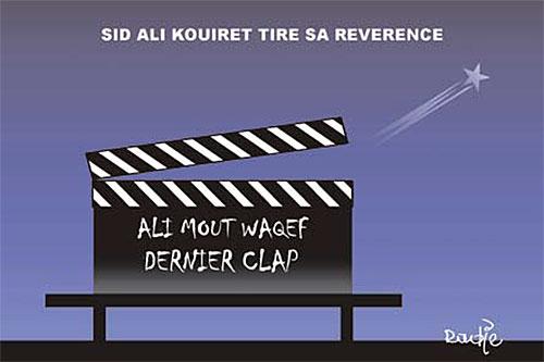 Sid Ali Kouiret tire sa réverence