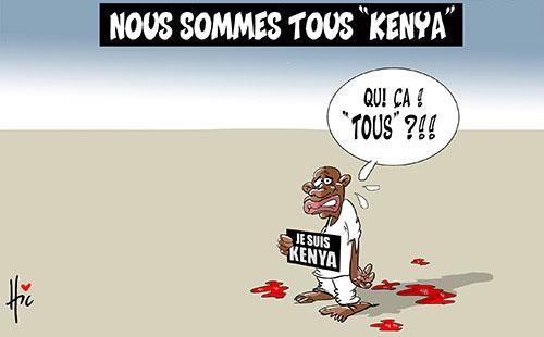 Nous sommes tous Kenya - Le Hic - El Watan - Gagdz.com
