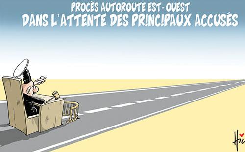 Procès autoroute est-ouest: Dans l'attente des principaux accusés - Le Hic - El Watan - Gagdz.com
