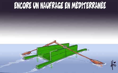 Encore un naufrage en méditerranée - Le Hic - El Watan - Gagdz.com