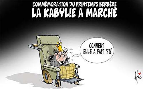 Commémoration du printemps berbère: La kabylie a marché - Le Hic - El Watan - Gagdz.com