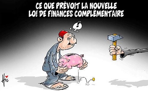 Ce que prévoit la nouvelle loi de finances complémentaire - Le Hic - El Watan - Gagdz.com