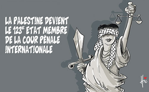 Le Palestine devient le 123e etat membre de la cour pénale internationale - Le Hic - El Watan - Gagdz.com