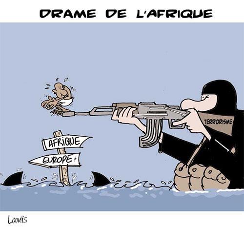 Drame de l'Afrique - Lounis Le jour d'Algérie - Gagdz.com