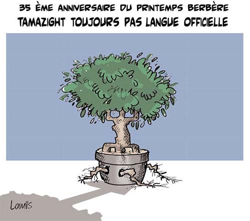 35ème anniversaire du printemps berbère: Tamazight toujours pas langue officielle - Lounis Le jour d'Algérie - Gagdz.com