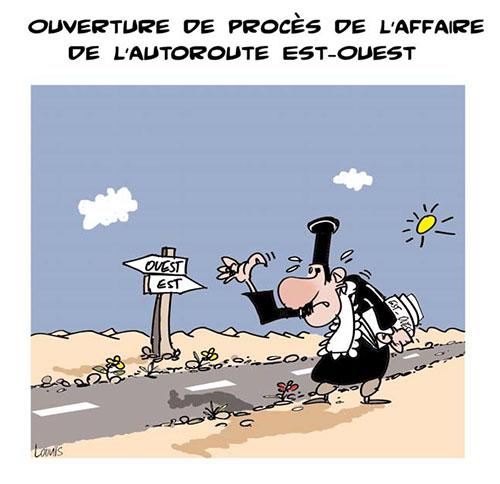 Ouverture du procès de l'affaire de l'autoroute est-ouest - Lounis Le jour d'Algérie - Gagdz.com