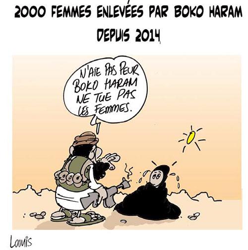 2000 femmes enlevées par boko haram depuis 2014