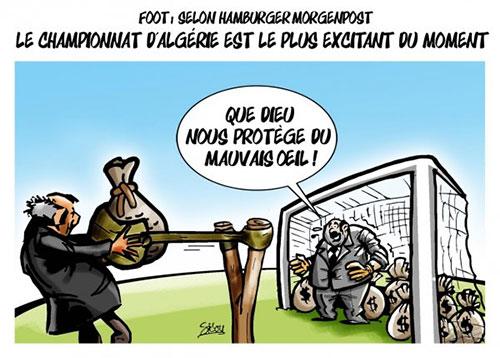 Foot: Selon Hamburger Morgenpost: Le championnat d'Algérie est le plus excitant du moment - Sidou - Gagdz.com