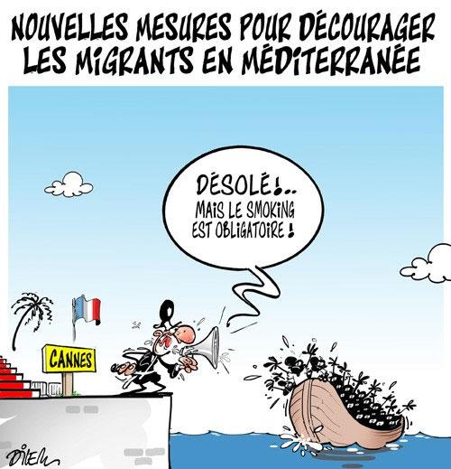 Extrêmement Nouvelles mesures pour décourager les migrants en méditerranée  KK92