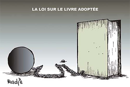 La loi sur le livre adoptée - Ghir Hak - Les Débats - Gagdz.com