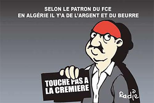 Selon le patron du fce: En Algérie il y'a de l'argent et du beurre - Ghir Hak - Les Débats - Gagdz.com