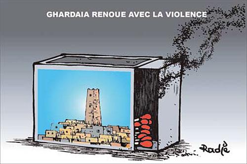 Ghardaia renoue avec la violence - Ghir Hak - Les Débats - Gagdz.com