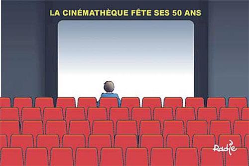 La cinémathèque fête ses 50 ans - Ghir Hak - Les Débats - Gagdz.com