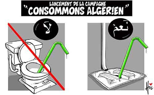 "Lancement de la campagne ""Consommons algérien"" - Le Hic - El Watan - Gagdz.com"