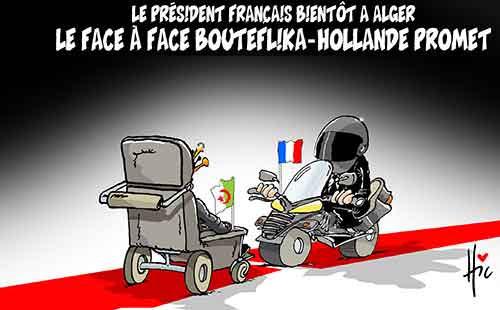 Le président français bientôt à Alger: Le face à face Bouteflika-Hollande promet